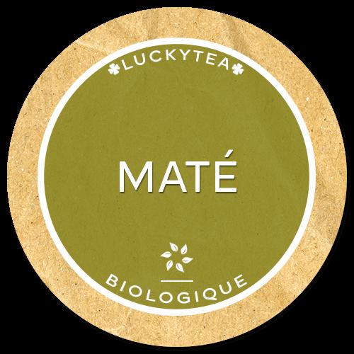 Luckytea mate biologique mate bio energisant bio