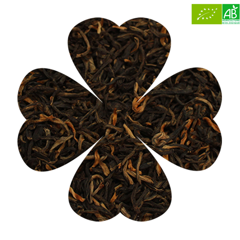 Luckytea the noir bio yunnan imperial 2